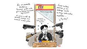 El discurso un poco confuso de Carles Puigdemont pero de donde viene la razon?