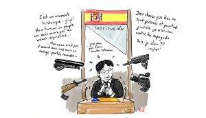 Le discours un peu confus de Carles Puigdemont... mais d'où vient la raison???